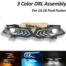 FOR Ford 2013-2016 Fusion LED DRL DayTime Running Driving Light REPLACEMENT Ligh