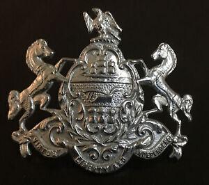 Vintage Pennsylvania State Seal Law Enforcement Hat Badge