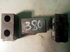 3 Backen Blockbacken Aufsatzbacken f. Dreibackenfutter Drehmaschinenfutter #0380