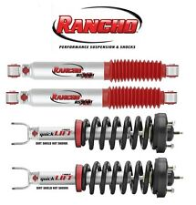 NEW Rancho 2 Front Strut Assemblies & 2 Rear Shock Absorbers for 09-16 Ram 1500