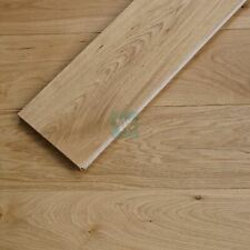 165mm Wide 20mm Thick Natural Oiled Oak Flooring / Engineered Wood / Smooth EC01
