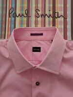 PAUL SMITH Men's SHIRT 16.5 inch Immaculate Condition. Pink Shirt