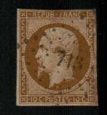 France Scott 10 Used (close 4 margins) - Catalog Value $575.00