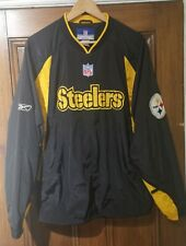 NFL Pittsburgh Steelers Pullover Jacket Coat Top MJersey Shirt American Football