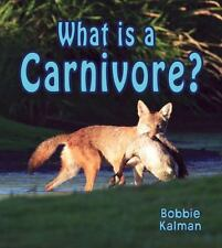 What Is a Carnivore? (Big Science Ideas)-ExLibrary