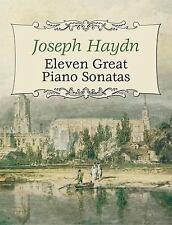 Eleven Great Piano Sonatas (Dover Music for Piano), , Classical Piano Sheet Musi