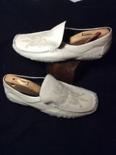 Mens Robert Wayne Rays Leather/ Suede Driving Loafers  12