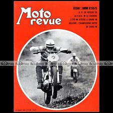 MOTO REVUE N°1990 BMW R50/5 SERGE BACOU GRAND PRIX RDA ROCA DINAN CHAMOIS 1970