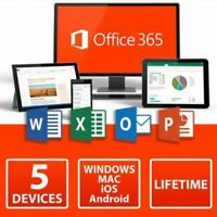 MS 365 - Microsoft Office 2016 Professional Plus For Mac 5 Devices Download Link