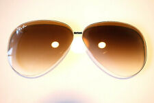 Ray Ban RB 3025  RayBan  Aviator  58 mm Gradient Brown Replacement  Lenses