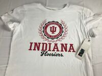 Indiana Hoosiers T-Shirt Womens Medium Soft Cotton Student Alumni NEW Grad IU