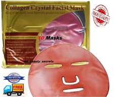 10x Red Wine Collagen Facial Face Masks Anti Aging Wrinkles Repair Unisex Sale