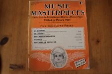 Musical Masterpieces 4: Percy Pitt 5 Complete Pieces: World's Operas/Plays
