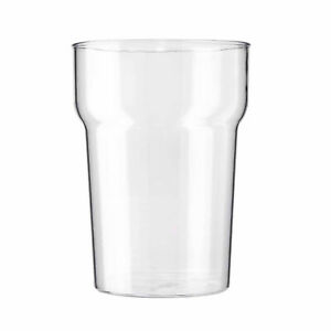 Pack of 10 BBP Elite Polycarbonate Reusable Nonic Pint Glasses