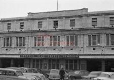 PHOTO  FACADE OF SWANSEA (HIGH STREET) STATION. 16/4/59