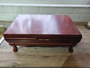 Vintage Viners Guild Empty Mahogany Colour Canteen Box - For Repurpose/Refurb