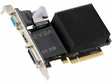 EVGA GeForce GT 710 DirectX 12 02G-P3-2712-KR 2GB 64-Bit DDR3 PCI Express 2.0 Vi
