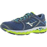 Mizuno Mens Wave Sky Blue Low Top Running Shoes Sneakers 7 Medium (D) BHFO 9988