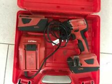 Hilti SIW 22-A Cordless Impact Wrench with 2 batteries, charger and case
