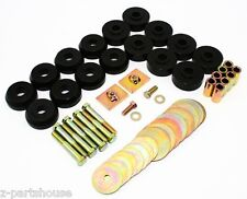 IMPALA (59-64) Polyurethane Body to Frame Mount Bushings 7-144BL (BLACK)