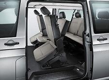 VW T6 T5 Kombi Shuttle quick release 3 Single Rear Seats *SAME DAY FIT CERTIFIED