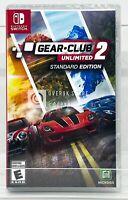 Gear Club Unlimited 2 - Nintendo Switch - Brand New