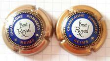 Capsules de CHAMPAGNE Pommery Brut Royal différentes