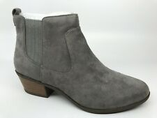 Dr Scholls Womens Ankle Bootie Boot Size 8.5 M Belief Gray NEW $90