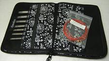 ChiaoGoo Twist Red Lace Small kurze Nadelspitzen Set (2.75 - 5.0 mm) 7400-S
