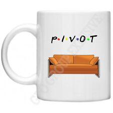 Friends Pivot Sofa TV Series Joey Chandler Ross Monica Rachel Phoebe 11oz Mug
