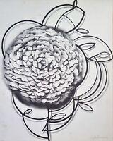 Serigraph by Agustin Fernandez. Untitled, 1978. Original signed.
