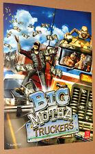 2002 Big Mutha Truckers very rare mini Poster 30x21cm