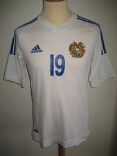 Armenia MATCH WORN rare football shirt soccer jersey maillot trikot size M