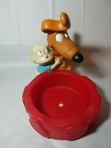 Rugrats Tommy Pickles and Spike pet bowl washable removable bowl pet supplies