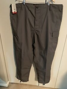 TRU-SPEC Men's Polyester Cotton Rip Stop BDU Pant Charcoal Grey XX-Large
