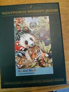 Wentworth 75 piece jigsaw, Animal Magic. Used, Complete