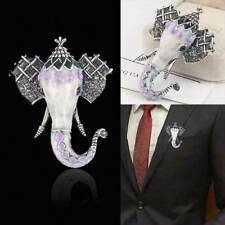 Novelty Elephant Animal Brooch Pin Enamel Wedding Fashion Costume Jewelry Gifts
