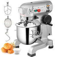 10Qt Electric Food Stand Mixer Dough Mixer 450W Stainless Steel Stand Mixer