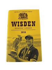 Wisden Cricketers Almanack 2018 155th Edition RRP £55 Hardback