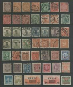 China Mint MH and Used Collection From Old Album