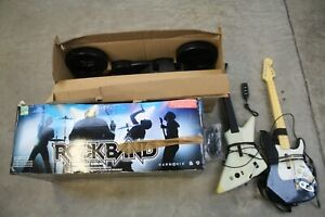Rock Band Instrument Edition Xbox 360 - x2 Guitars / Drums / Mic etc(Hospiscare)