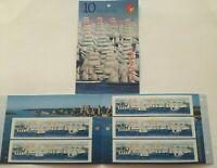 CANADA TALL SHIPS 2000 BOOKLET OF 10 STAMPS GRANDS VOILIERS 2000 FREE SHIPPING