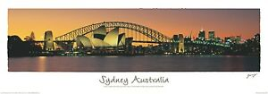 Sydney Australia  PRINT POSTER