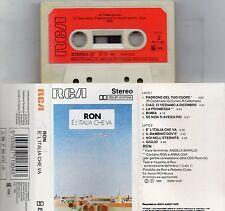 RON musicassetta MC MC7 K7 originale E' L'ITALIA CHE VA Angela Baraldi ANNA OXA
