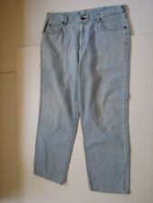 Riders Women Size 18 Light Blue Jeans Inseam 28 Distressed
