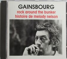 "SERGE GAINSBOURG - RARE CD ""MELODY NELSON / ROCK AROUND THE BUNKER"""