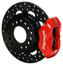 WILWOOD DRAG DISC BRAKE KIT,REAR,BIG FORD NEW,2.5,RED,D