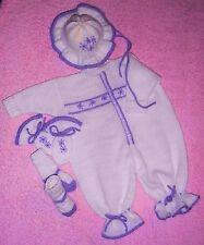 "Knitting Machine Pattern 3-6m baby girl: ""Amelia"" Bodysuit MK301 Frandor Formats"