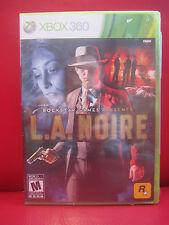 L.A. Noire (Microsoft Xbox 360, 2011) NEW