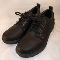 Skechers Mens 64260 Low Top Lace Up Fashion Sneakers Black Size 8.5 Memory Foam